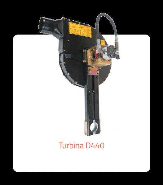turbina D440recta